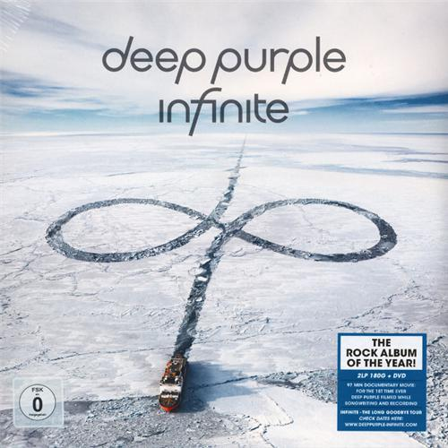 DEEP PURPLE – INFINITE (2 LP + DVD)/ 0211850EMU/ SEALED
